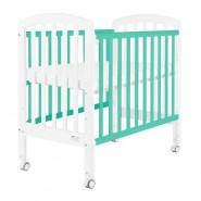 "Baby Star Medi 嬰兒木床(包括3"" 床褥) (湖水藍色)"