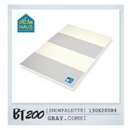 CreamHaus 冰雪地墊 (鐵灰&奶白色)