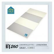 CreamHaus 冰雪地墊 (鐵灰 & 奶白色)