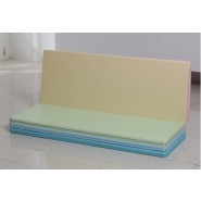 Caraz Q4 加厚摺摺地墊 (160x120x4CM) (粉彩色)