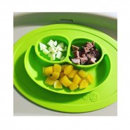 EZPZ Mini Mat 迷你枱墊+笑臉餐碟 (綠)