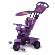 Fisher Price Royal 3合1三輪車 (可愛小鳥/紫)