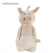 0/3 Baby 小豬音樂拉線玩具 (米白色)