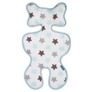 Pogmang 3D透氣呼吸嬰兒車墊 (星星)