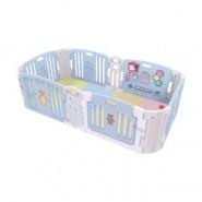 Haenim Toy Premium 寶寶屋地墊套裝附有面板固定扣 (粉藍色)