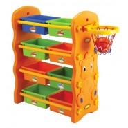 Edu Play 3合1儲物架、掛衣架、籃球架