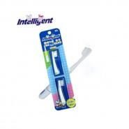 因特力淨Intelligent 兒童聲波電動牙刷頭 補充裝 (綠色)