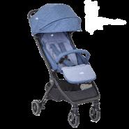 Joie Pact 挑高座椅便攜帶型單向嬰幼兒手推車 (海洋藍)
