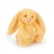 英國JELLYCAT 賓尼兔公仔 (檸檬黃色) (18CM)