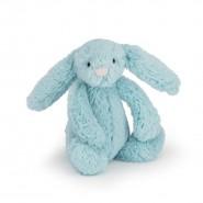 英國JELLYCAT 害羞賓尼兔系列 賓尼兔公仔 (天藍色) (18CM)