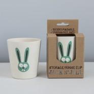 JACK N' JILL 天然竹米糠水杯 (兔子)