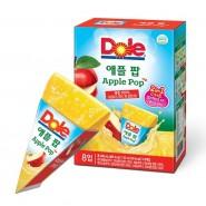Dole - 2合1沙冰果汁棒/果汁唧唧冰 (8條入) - 蘋果味