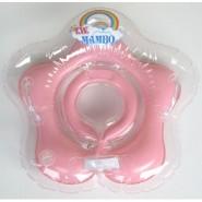 台灣曼波 Mambo Baby 嬰兒花形頸圈水泡 (粉紅)
