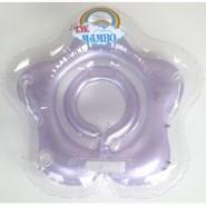 台灣曼波 Mambo Baby 嬰兒花形頸圈水泡 (紫)