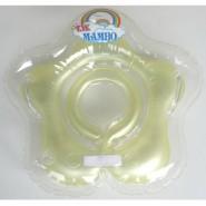 台灣曼波 Mambo Baby 嬰兒花形頸圈水泡 (黃)