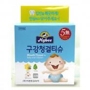韓國Mybee 嬰兒口腔清潔濕紙巾 (30片)