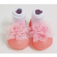 韓國Attipas學步鞋 New Corsage 新繡球系列 粉紅繡球 (13.5cm)