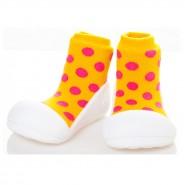 韓國Attipas學步鞋 Polka Dot 圓點系列 圓點黃色 (13.5cm)