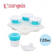 2angels 矽膠副食品儲存杯 (120ml)