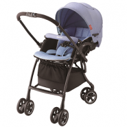 Aprica Luxuna Comfort 舒適系列雙向嬰幼兒手推車 (海洋藍)