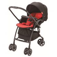 Aprica Luxuna Comfort 舒適系列雙向嬰幼兒手推車 (星光紅)