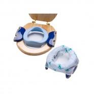 Parents League Potette Plus 兩用摺合便攜廁所 (藍)