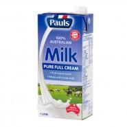 保利 - [餐飲包裝] 全脂純牛奶 (1公升)