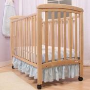 Troll Nicole 嬰兒床床架 + 有機竹纖綿雙面彈簧床褥 (組合發售)