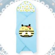 Naforye 舒棉造型包巾被 (蜜蜂)