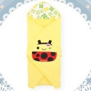 Naforye 舒棉造型包巾被 (瓢蟲)