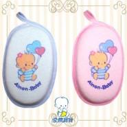 AiNON Baby 愛儂寶貝 沐浴海棉 (粉藍&粉紅)