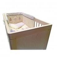 Troll Lukas 嬰兒床 (附送床褥) (象牙白色)