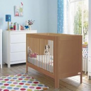 Troll Lukas 嬰兒床 (附送床褥) (復古木色)
