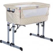 ZIBOS ALA 5合1 親子伴睡嬰兒床 (方塊忌廉)