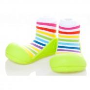 韓國Attipas學步鞋 RainBow 彩虹系列 綠彩虹 (13.5cm)
