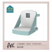 CreamHaus 奶酪座墊 (粉藍) Creamy Seat Cushion (Blue)