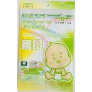 SoftTouch 嬰兒全棉汗巾  3枚入 Baby Sweat Pad (32cm x 20cm)
