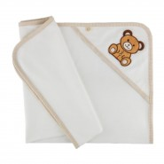 SoftTouch 有機棉包被 1枚入 Organic Infant Blanket (75 cm x 78 cm)