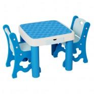 Edu Play 小童枱連兩椅套裝 (藍)