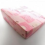 六甲村 側睡枕 [平織] 粉紅