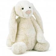 英國JELLYCAT 害羞賓尼兔系列 賓尼兔公仔 (奶油色) (67CM)
